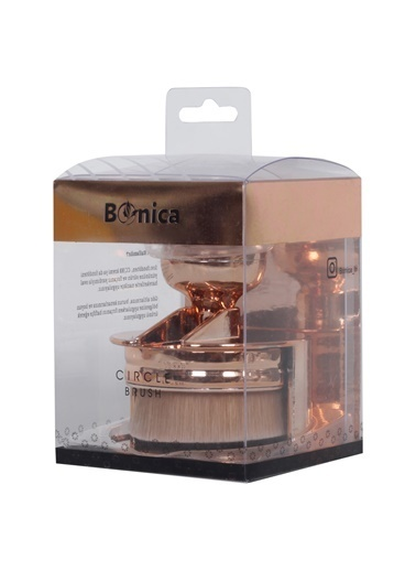 Bonica Bonica Makyaj Fırçası Altın Rengi Renksiz